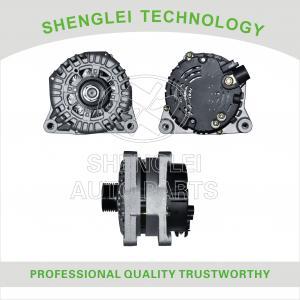 Quality Fixed Pulley Type Peugeot 307 Alternator , Aluminum Made Peugeot 406 Alternator for sale