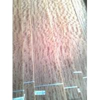 Quality Natural Figured Makore Wood Veneer For Interior Decoration for sale