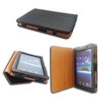 Quality PU Leather Samsung Galaxy Tab Case Protective Cover for 10.1 GT-P7510 P7500 for sale