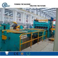 Quality High Efficiency Metal Slitting Line , Automatic Slitting Machine With Anti - Rust Roller for sale