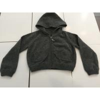 Quality Little Boys Black Hoodie Sweater For Winter / Autumn Fashionable Design for sale