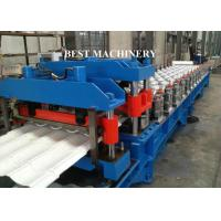 Quality Guide Pillar Roof Sheet Glazed Tile Roll Forming Machine with 18 Station Groups for sale