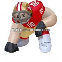 China nfl inflatable bubba player on sale