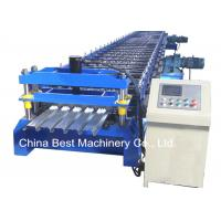 Quality 688 Floor Deck Roll Forming Machine Floor Tile Material Making Machine for sale