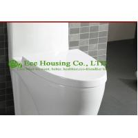 China Wc Toilet With Dual Flush Ceramic One Piece , Siphon Flushing,Bathroom Sanitary Wares Chinese Wc Toilet on sale