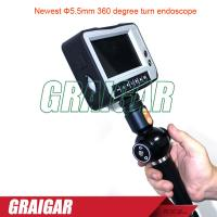 Buy cheap Φ5.5mm 360 degree turn endoscope electrical instruments ISO9001 from wholesalers