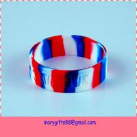 China Fashion and Cheap swirl color  Silicone Bracelet on sale