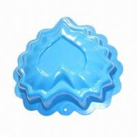 Quality Cake Mold in Heart Shape, Made of Aluminum for sale
