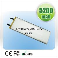 Quality OEM Polymer Lithium Ion Batteries 2500mAh  3.7V For Small Medical Device for sale