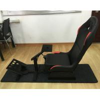 Quality Adjustable Folding Racing Simulator Seat With Support of Steering Wheel+Pedal+Sh 1012B for sale