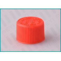 Quality 20/410 Red Screw Top CRC Child Resistant CapsPlastic Ribbed Closure for sale