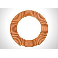 "Quality Seamless Copper Refrigeration Tubing 3/8"" Soft Annealed Copper Tubing for sale"