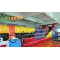 Quality Amusement Park Large Inflatable Obstacle Course Bouncy Castles for adults and children for sale