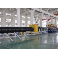 China Anti Erosion Corrugated Pipe Extruder 106mm HDPE Corrugated Pipe Extruder Computerized Corrugated Pipe Extrusion Line on sale