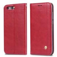 Quality Book Cover Huawei Leather Case For Honor 9 Magnetic Adsorption Wallet Flip Stand for sale