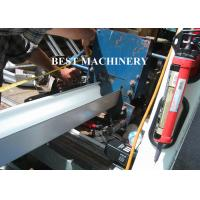 Buy 6 Inch Roofing Rain Gutter Roll Forming Machine PLC Control Cutting at wholesale prices
