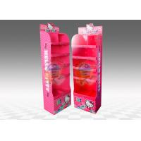 Buy Children Toy Display Stands 5 Tiers , Offset printing floor display stands at wholesale prices