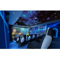 Quality Motion Rides 5D Movie Theater Equipment 1 Seat 2 Seats 3 Seats With Electric System for sale
