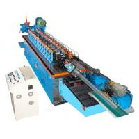 China 15KW Hat Channel Cold Rolling Machine With Cr 12 Blade Hydraulic Cutting on sale