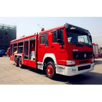 China 14m3 Water Tank Fire Fighting Trucks , Sinotruk Howo Fire Engine Truck on sale