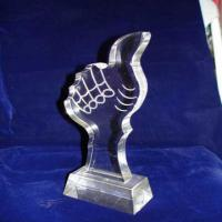 Quality Custom Acrylic Award Trophy , Personalized Award Plaques For Employee for sale