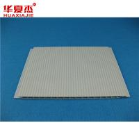 Quality 250mm x 8mm Flat Decorative Ceiling Panels With Silver Line And Groove for sale
