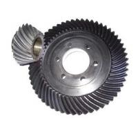 Quality Standard 20crmnti Spiral Bevel Gear With Keyways / Bevel Pinion Gear for sale
