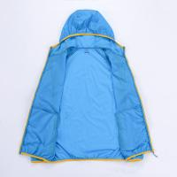 Custom Couple Sunproof Chinlon Skin Clothes With Hood