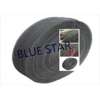 Pure Titanium Filter Knitted Mesh 0.2 / 0.25mm Wire For Sea Water Desalination / Air Filter