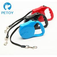 Quality Outdoor Walking Retractable Pet Leashes Chew Proof  Customized Color for sale
