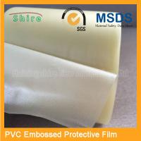 Adhesive Embossing PVC Protective Film Roll With High Viscosity for sale
