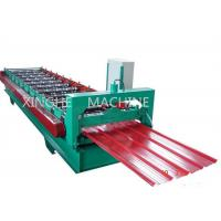 Buy cheap High Capacity Cold Roll Forming Machines With Coiler Sheet Guiding Device from wholesalers