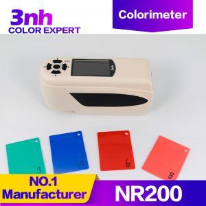 Quality Delta E Color Measurement Chroma Colour Testing Machine Portable Digitable Colorimeter 3nh NR200 for sale
