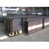 Hot Rolled / Welded Galvanized Steel Beams H Section Steel Structure Girder Column for sale