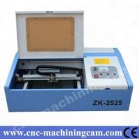 Quality Stamp mini cnc laser machine ZK-2525-40W(250*250mm) for sale