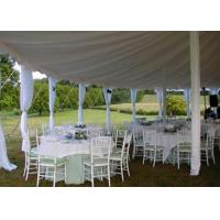 Quality 25x40m Fireproof Aluminum Structure White Wedding Event , Outdoor Party Tent for sale