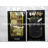 China Moisturized System Cigar Humidor Bags Ziplock With Slider Easy Open And Close on sale
