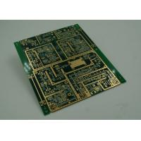 Quality Thick Gold Ginish Universal PCB Board High Density with PADs / IC Leads for sale