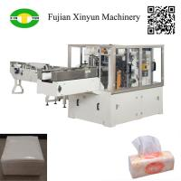 Quality Automatic soft facial tissue and napkin paper plastic film packing machine for sale