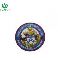 Quality Professional Custom Made Embroidered Patches Smooth Edge Nickel - Free for sale