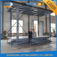 Buy Double Deck Car Parking Lift  Garage Car Elevator From Basement To Ground Level at wholesale prices