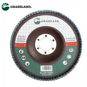 "Quality Metal Stainless Steel Sanding 125mm 5"" Zirconium Flap Disc Wheel for sale"