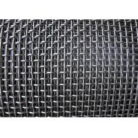Quality Smooth Hooked Galvanized Wire Mesh / Quarry Screen Mesh Low Carbon Steel for sale