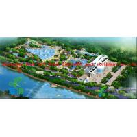 Outdoor Water Park Project For Summer Entertainment , Wave Pool Design for sale
