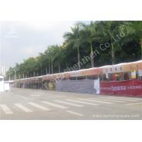 Quality 100 Percent Utilization Anodized Aluminum Frame Tents , Clear Span Fabric Structures for sale