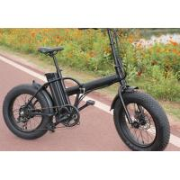 Quality 20 inch folding electric bike ,  25KM / H big tire mountain bikeEN15194 Approved for sale