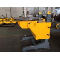 Quality Gear Tilt Pipe Welding Positioners 1200mm Table Diameter Rolling VFD for sale