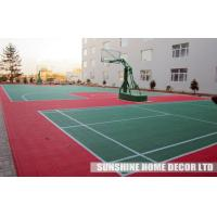 Quality Indoor Interlocking Tennis Court Flooring Tile , Futsal Court Surface for sale