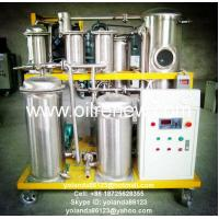 China SYA Stainless Steel UCO Purifier | Oil Filter | UCO Regeneration System on sale