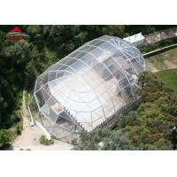Quality Transparent Mix Structure 500 People Outdoor Party Tent For Temporary Catering for sale